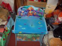 Tigger Child's desk and stool £ 20 o.n.o