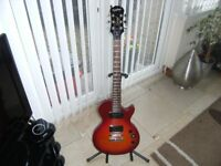 epiphone special11 guitar and roland microcube