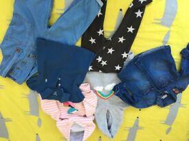 Huge bundle of girls clothes 12-18 months