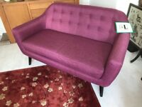 2 Seater Sofa from Made - like new - barely sat on