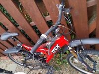 TRAX MOUNTAIN BIKE used, only 45 pounds