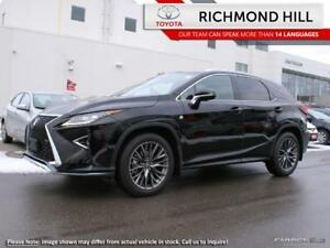 2017 Lexus RX 350 RX 350 F SPORT 2|Red Leather|Moonroof|Power Li