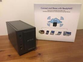 Netgear ReadyNAS Duo V2 Bay NAS and 1x 1.5TB HARD DRIVE