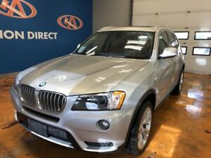 2014 BMW X3 xDrive35i AWD/ 3.0L V6/ LEATHER/ HEATED & POWER S...