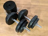 Dumbbells dumb bells weights - COLLECTION ONLY