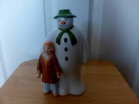 The Snowman ceramic money box