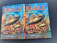 A GREAT VINTAGE EAGLE ANNUAL 1971 FULL OF PHOTO'S STORIES AND COMIC STRIPS