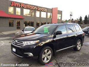 2013 Toyota Highlander V6 Limited w/navi, leather, roof + more