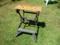 BLACK AND DECKER WORKMATE - EXCELLENT CONDITION.