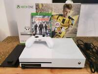 Xbox One S 1TB White Console with Controller and The Division