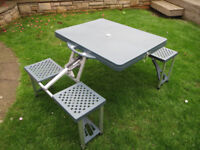Folding Camping Table and Chair Set