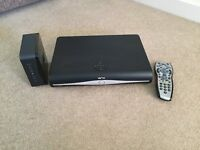 Sky + HD box and Sky hub for sale.