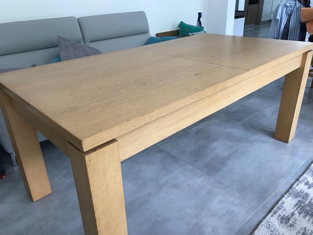Light Oak Dining Table And Chairs In St Mellons Cardiff Gumtree