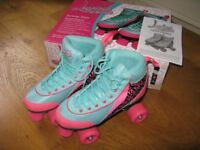 Luscious Quad Roller Skates - as new size UK size 5