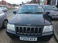 £1,495 Jeep Grand Cherokee 4.0 Limited 5dr Auto