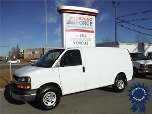 2016 Chevrolet 2500 Cargo Van-Power Windows&Locks-Only 17,750KM