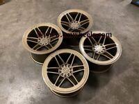 "18"" Inch Strom DS-25 Drift Alloy Wheels 5x120 BMW F80 M3 E90 M3 E46 M3 M4 F82 F83"