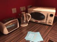 Prestige Kettle and Toaster with Classico Electronics Microwave