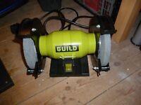 Guild 240volt bench grinder brand new