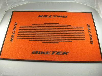 orange Türmatte Fussmatte Schmutzmatte Fussmatte Teppich door-mat Motorrad KTM