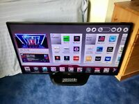 LG 47 INCH SMART LED INTERNET TV WITH FREEVIEW HD BUILT IN.