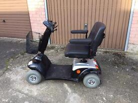 Kymo 4 mph mobility scooter 12 months old