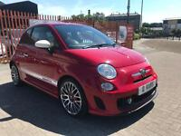 2009 (09) Abarth 500 1.4 T-Jet / 52K FSH / 2 Owners / 12 Months MOT / Timing Belt kit done