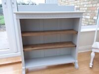 Vintage refurbished bookcase