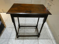Vintange barley twist side table Please note will not reply to TEXT Due to Scammer