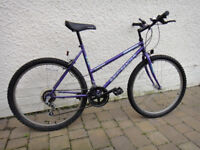 "Ladies / Girls BICYCLE - 19"" frame. Fits 28""–33"" inside leg. Hardly used. PERFECT WORKING ORDER."
