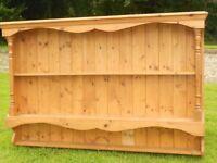 A Lovely Pine Wall Dresser