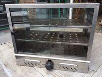 LPG GAS OUT DOOR HOT FOOD PIE CABINET COMMERCIAL VAN TRAILER MARKET CATERING KITCHEN CHICKEN FISH