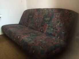 Sofa pulls out to sofabed