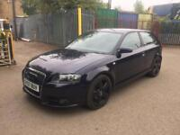 Audi A3 2.0 TDI S Line S Tronic 3dr HPI CLEAR+6 MONTH WARRANTY