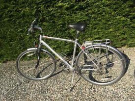 Bicycle. Marin Sausalito hybrid.24 speed. Front suspension. Shimano parts. 27 1/2 wheels vgc