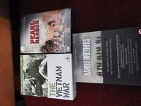 Boxed sets - Band of Brothers, The Vietnam War, Pearl Harbour