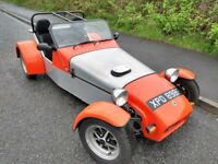 1968 LOTUS SEVEN 7 REPLICA KIT CAR, CATERHAM WESTFIELD ROBIN HOOD TIGER FORD TRACK TAX EXEMPT
