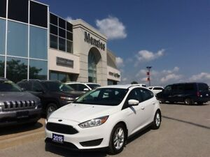 2015 Ford Focus SE, Bluetooth, Cam, Heat Seats, Clean Carproof