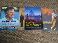 Travel Books X3 Michael Palin New Europe +Himalaya Kevin McCloud Grand Tour Europe Ideal gifts