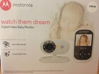 Brand New Motorola Baby Monitor Model :MBP25