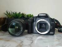 Canon EOS 450D with 18-55mm kit lens