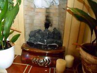cast iron iridescent (heavy) fire fret for sale