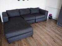MADE 4 Seat Modular Corner Sofa