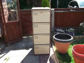 2 Old storage cabinets