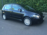 2012 VOLKSWAGEN GOLF PLUS 1.6 TDI S 27000 WARRANTED MILES MINT EXAMPLE FULL 12 MONTHS MOT