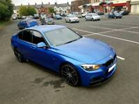 2013 bmw 320d m sport manual with full Performance pack and 20s **top spec**