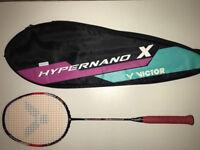 Victor Hypernano X 900 Badminton Racket.