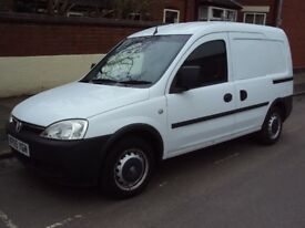 VAUXHALL COMBO 2005 1.3 CDTI ONLY 69K, SLD, FULLY WOOD LINED, VERY ECONOMICAL, EXCELLENT CONDITION
