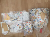 c.4kg of mixed UK and International Stamps