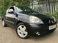 Renault Clio 1.2 Petrol Only 50k Miles Years Mot Drives Great Cheap To Run And Insure !
